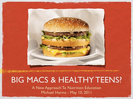 The science guru big macs healthy teens big macs healthy teens ccuart Image collections