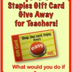 $200 Staples Gift Card and Birthday Gifts