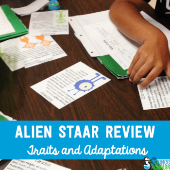 Alien STAAR Review for 5th Grade Science