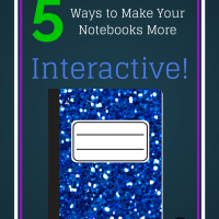 5 Ways to Make Your Science Notebooks More Interactive