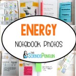 Energy Interactive Science Notebook Photos