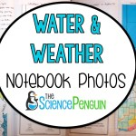 Science Notebook Photos: Weather and Water