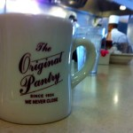 Hot Coffee at The Original Pantry Cafe