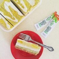 Mango and Green Tea X50 Raw Cheesecake