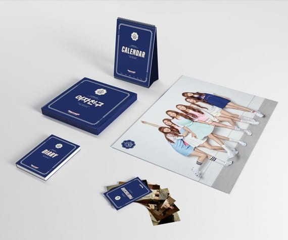 Includes Desk Calendar + Diary + Photocard + Poster (on pack) + L-Holder *L holder is only available for first pressed buyers Release Date : 23 Dec 15