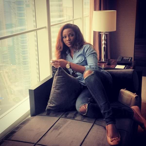 genevieve-nnaji-shanghai-july-2013-bellanaija-4-600x600-denim