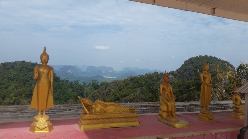 The view from the top of Tiger Cave Temple.