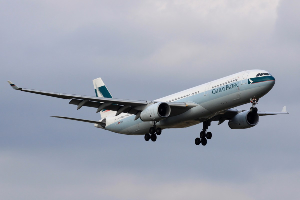 Flight Review – Cathay Pacific A330 Business Class Taipei to Hong Kong