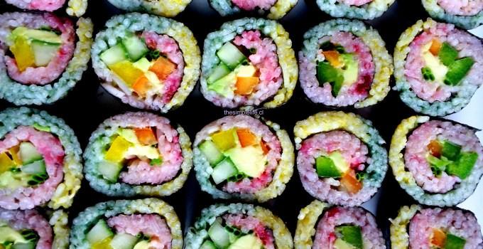 Sushi Arcoíris.