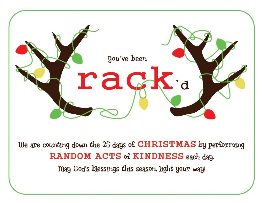 Random Acts of Christmas Kindness - The Simple Proof