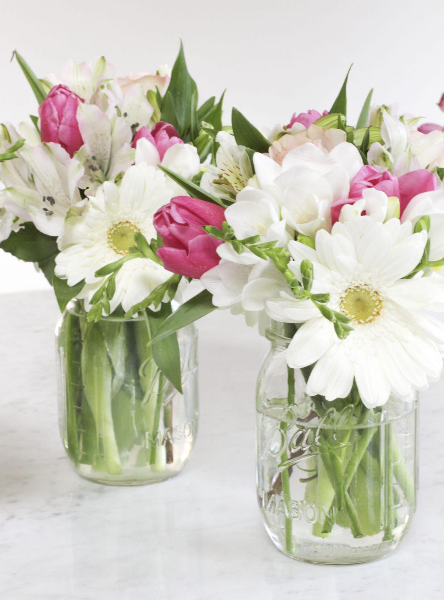 Spring Floral Arrangement The Simple Proof