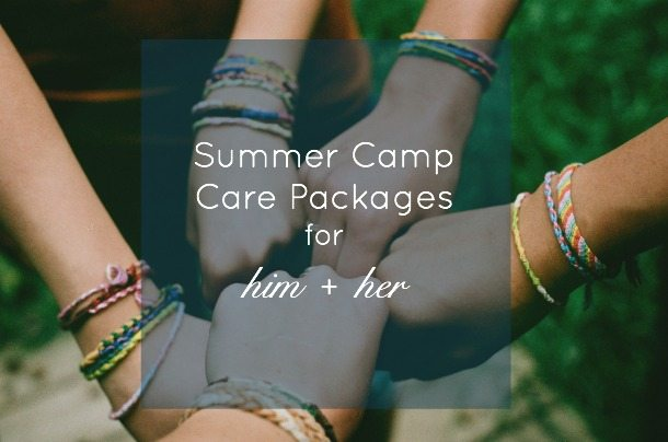 Summer Camp Care Packages title