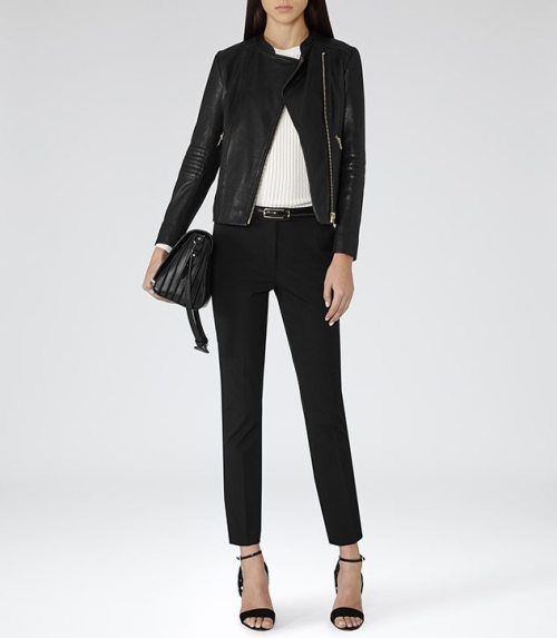 Four Finds | Leather Jacket