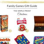 Gift Guide // Family Games