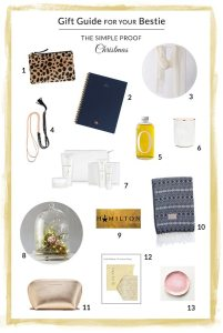 Gift Guide // For Your Bestie