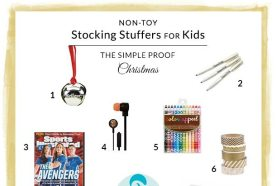 Gift Guide // Non-Toy Stocking Stuffers for Kids