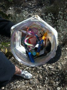 Who doesn't love a jar full of plastic toys?
