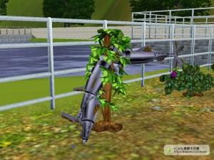 種了機器魚的綜合植物/全能植物。