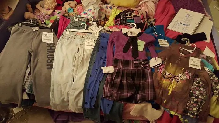 Consignment clothes