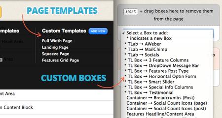 thesis navigation menu below header