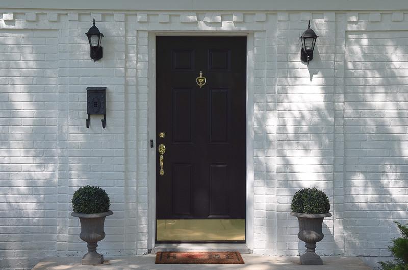 Balck Front Door