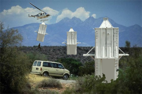 Arizona to Lower Concrete Boxes over Illegal Immigrants
