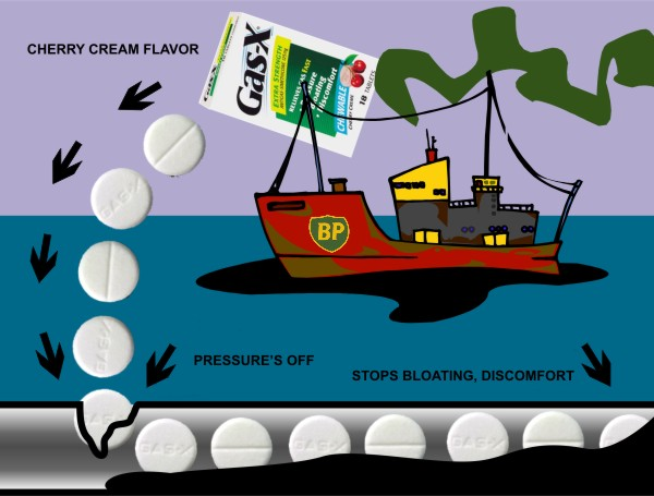 Oil Spill: Gas-X to the Rescue
