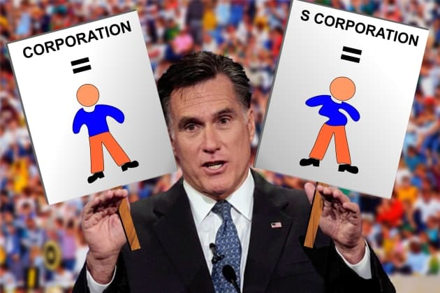 Mitt Romney: 'S Corporations are People with Spina Bifida'