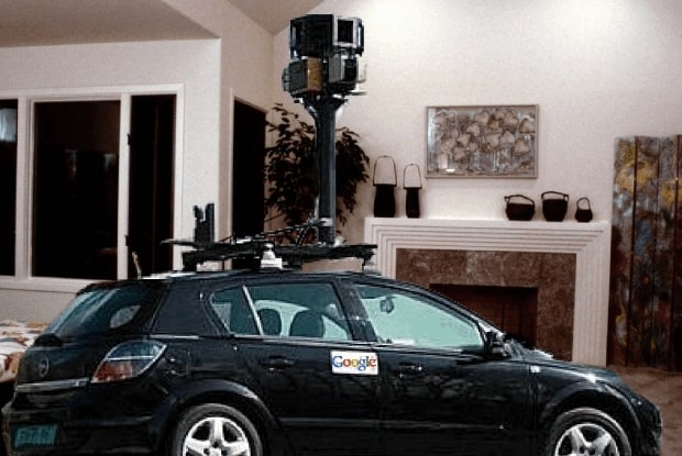 Google Takes Street View into People's Houses, Apartments