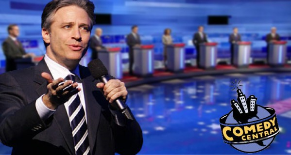 Jon Stewart and presidential candidates