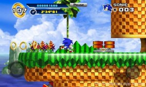 Sonic 4 Android screenshot 1 300x179 Sonic 4 Episode One Android Review screenshot
