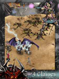 Battlebow Screenshot 2 225x300 Battlebow: Shoot The Demons iPhone Review screenshot