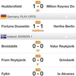 Betscores iphone screenshot 2