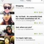 Keek iPhone Screenshot 1