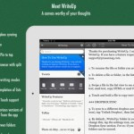WriteUp iPad Review screenshot