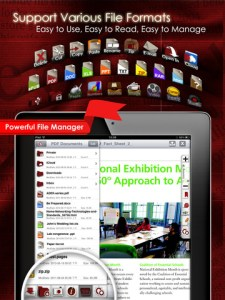 PDF Reader iPad screenshot 2 225x300 PDF Reader   iPad Edition App Review screenshot