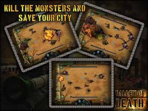 Valley of Death HD iPad Screenshot 1 300x225 Valley Of Death HD iPad Review screenshot