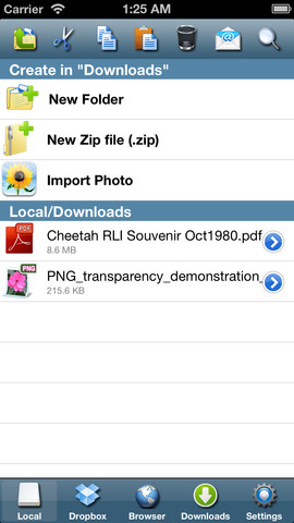 ifile iphone Giveaway! Free Promo Codes for iFile Download Manager screenshot
