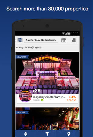 hostelworldapp Hostelworld Android Review screenshot