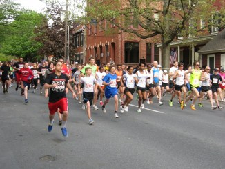 A previous Race Against Racism through Lancaster City in 2011.