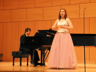 Olivia singing