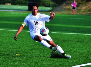 Vasquez has shone on the pitch this year. Photo courtesy of Mu Athletics.