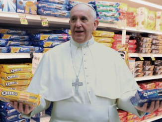pope and oreos