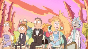Rick and Morty's season two finale aired. (Photo courtesy of Hollywoodreporter.com)