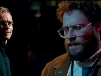 """Steve Jobs"" stars Michael Fassbender and Seth Rogan. (Photo courtesy of BGR.com)"