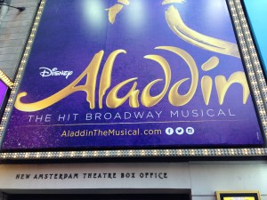 Aladdin is performed at New Amsterdam Theatre. (Paige Gregorzek/Snapper)