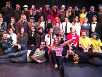 Sydney Sniezek directed this ACMO's fall showcase: Miscast. (Photo Courtesy of Curtis Hall's Facebook)
