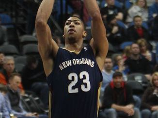 Anthony Davis looked to put on a show for the hometown fans in New Orleans. (Photo Courtesy of Wikimedia).