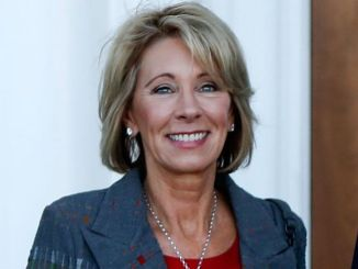 Betsy DeVos is now the Secretary of Education. Photo Courtesy of FoxNews.