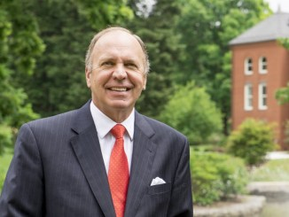President Anderson wants to dedicate more time to friends, family and himself. Photo courtesy of Millersville University.